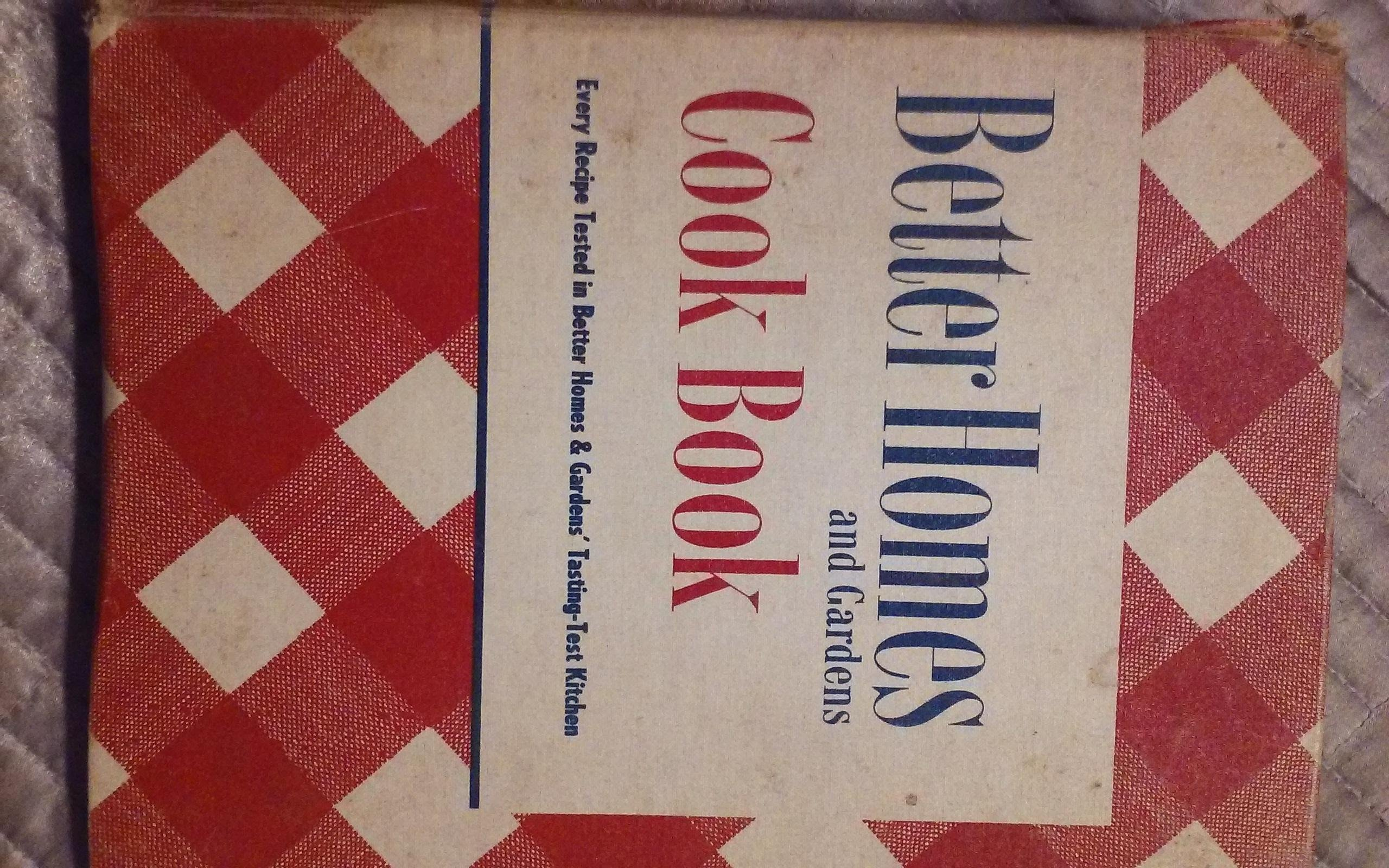 Better Homes and Gardens Cook Book 1950 Hardcover – 1950