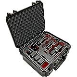 Profi Transportkoffer Travel Edition Plus, Koffer für DJI Mavic Air Fly More Combo + Zubehör oder bis zu 10 Akkus, wasserdichter Outdoor Case IP67