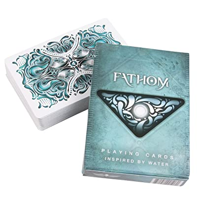 Ellusionist Fathom Water Themed Playing Card Deck: Toys & Games