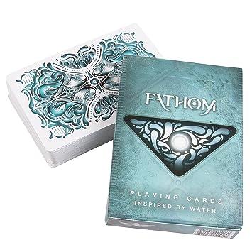 ENTENDER la baraja de naipes por Ellusionist & bicicleta cartas FATHOM Playing Cards Deck by Ellusionist & Bicycle