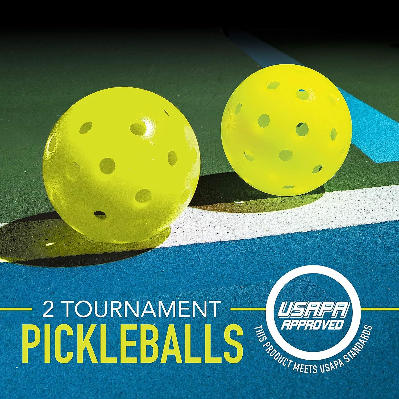 Franklin Pickleball Starter Set Official US Open Beginners Kids Games Sports
