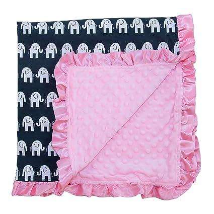 jlika bebé manta para recién nacidos para bebé (Niñas recibir mantas ...