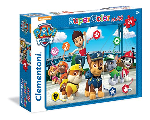 23 opinioni per Clementoni 24049- Paw Patrol Maxi Puzzle, 24 Pezzi