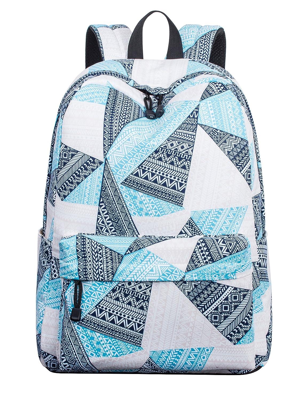 Leaper ,  Mädchen Kinderrucksack Blau[Geometric 911L] L