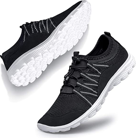 white workout shoes