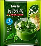 ネスレ 贅沢抹茶 ポーション 5個×6袋