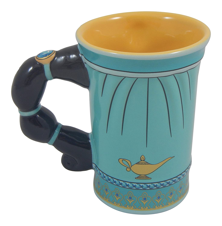Amazon aladdin coffee mugs - Amazon Com Disney Parks Jasmine From Aladdin Dress Ceramic Mug New Coffee Cups Mugs