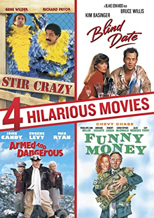 Image of: Netflix Hilarious Movies Collection armed And Dangerous Blind Date Stir Crazy Funny The Daily Dot Amazoncom Hilarious Movies Collection armed And Dangerous