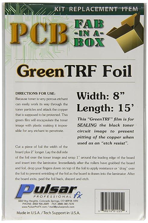 Pulsar Pro FX TRF Hoja para cartucho toner