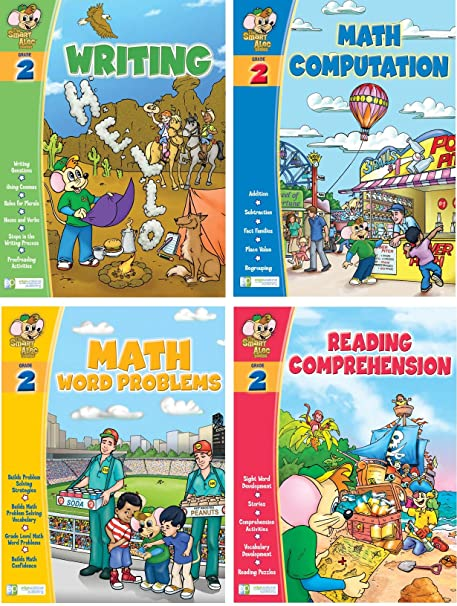 Amazoncom Smart Alec 2nd Grade Four Pack Learning Series