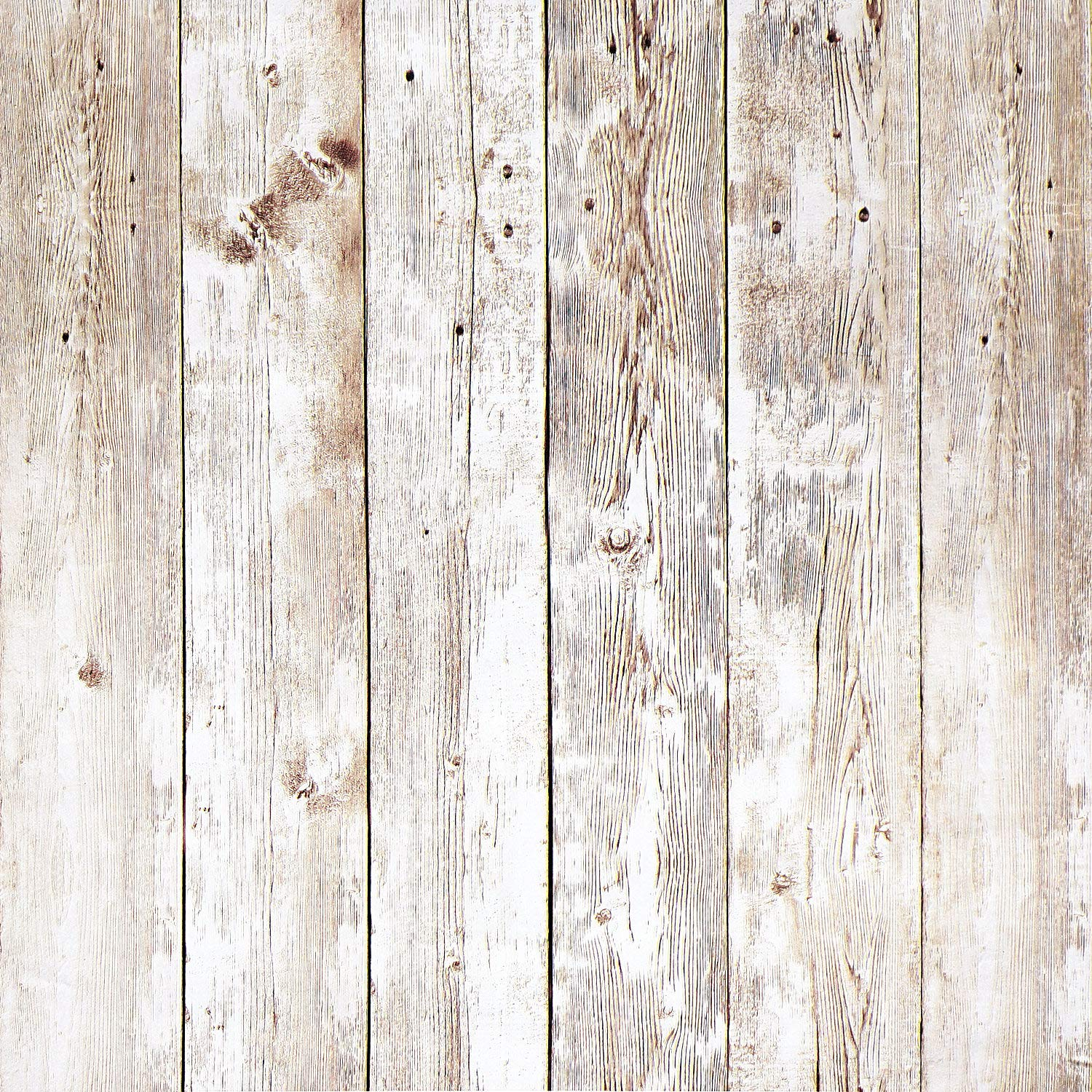 Wood Contact Paper 17.8in x 16.4ft Wood Peel and Stick Wallpaper Self-Adhesive Removable Wall Covering Decorative Vintage Wood Panel Faux Distressed Wood Plank Wooden Grain Film Vinyl Decal Roll