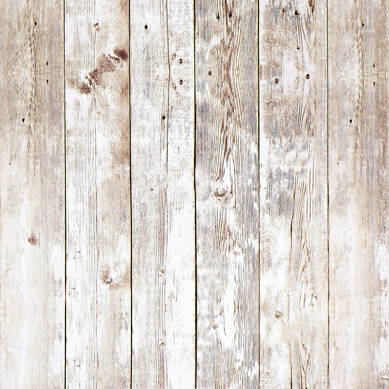 16.4Ft Rustic Wood Wallpaper Wood Plank Wallpaper Self ...