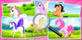 Pony & Unicorn : Find the Difference : Free Logic Game for Toddlers, Preschool Kids and Little Girls