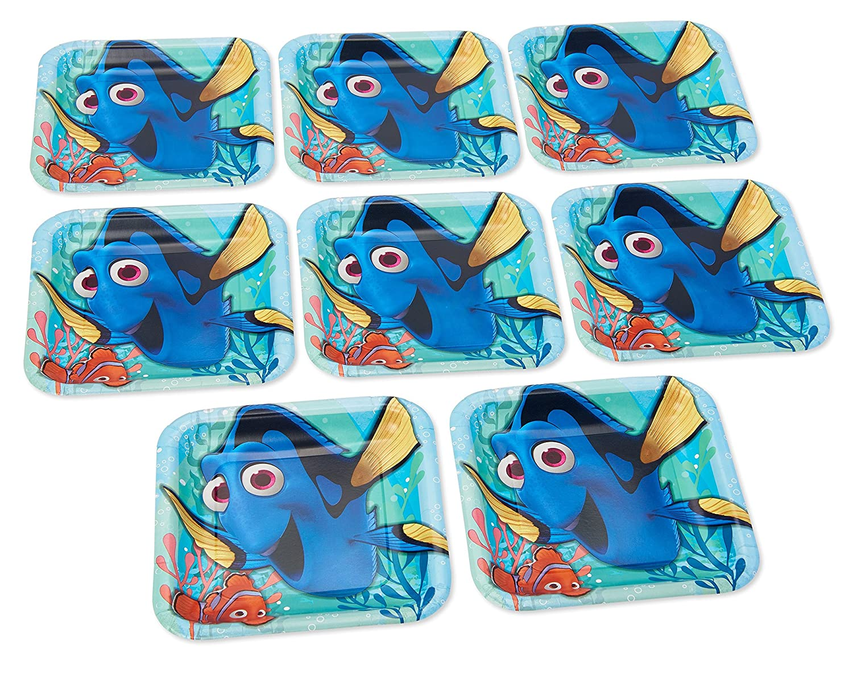 630730.05000000005 TradeMart Inc Big Party Pack Plastic Plates 7 Party Supply 300 ct Orange Peel