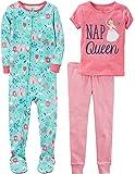 Carter's Juego de Pijama de 3 Piezas de algodón para niñas de