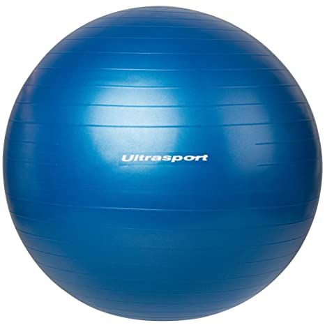 Ultrasport Pelota de fitness, Azul, 55 cm: Amazon.es: Deportes y ...