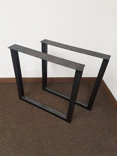 Amazon Com Economy Style Heavy Duty Square Style Metal Table Legs Handmade