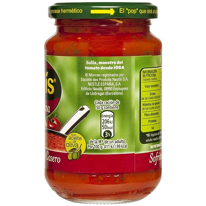 Solis - Salsa Sofrito Casero Frasco 340 g: Amazon.es: Alimentación y bebidas
