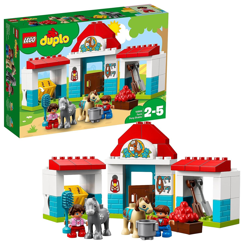 LEGO Duplo 10868 - Pferdestall, Spielzeug für das Kindergartenalter No Name LEGO®