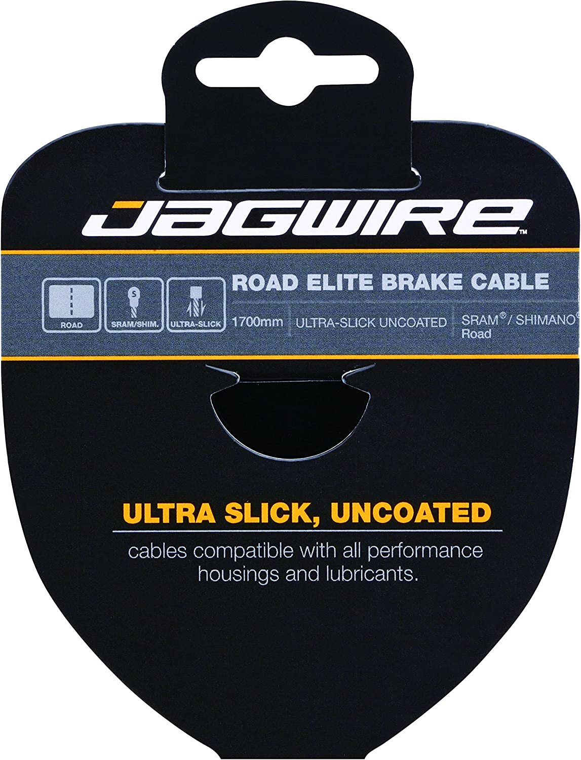 Jagwire Road Elite Link Brake Cable Kit SRAM//Shimano Ultra-Slick Uncoated Cables