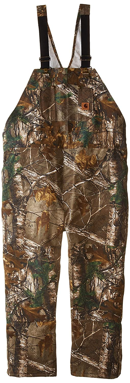 Carhartt Men's Big & Tall Quilt Lined Camo Bib Overalls Carhartt Sportswear - Mens 101226
