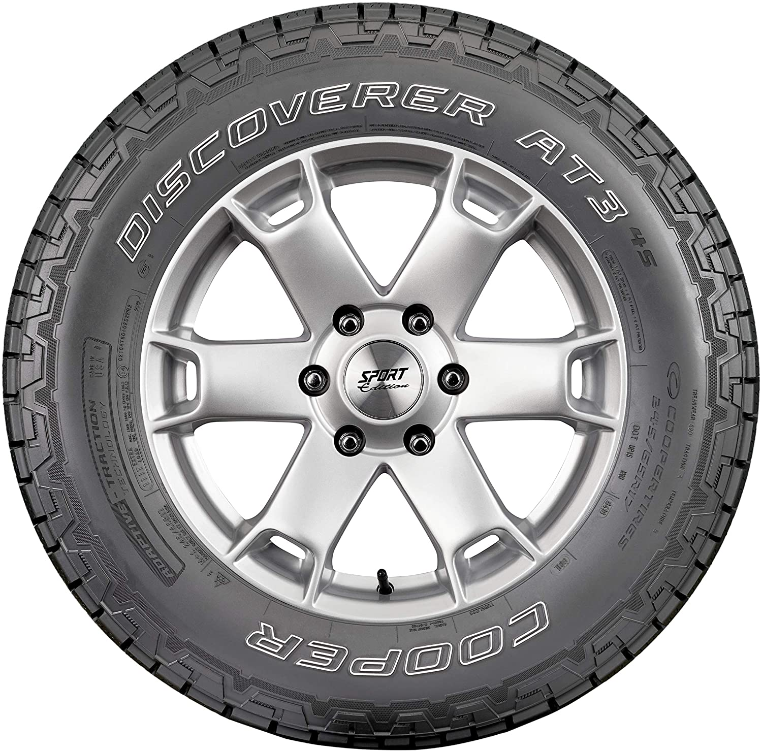 1 New Cooper Discoverer A//t3-265x70r16 Tires 2657016 265 70 16
