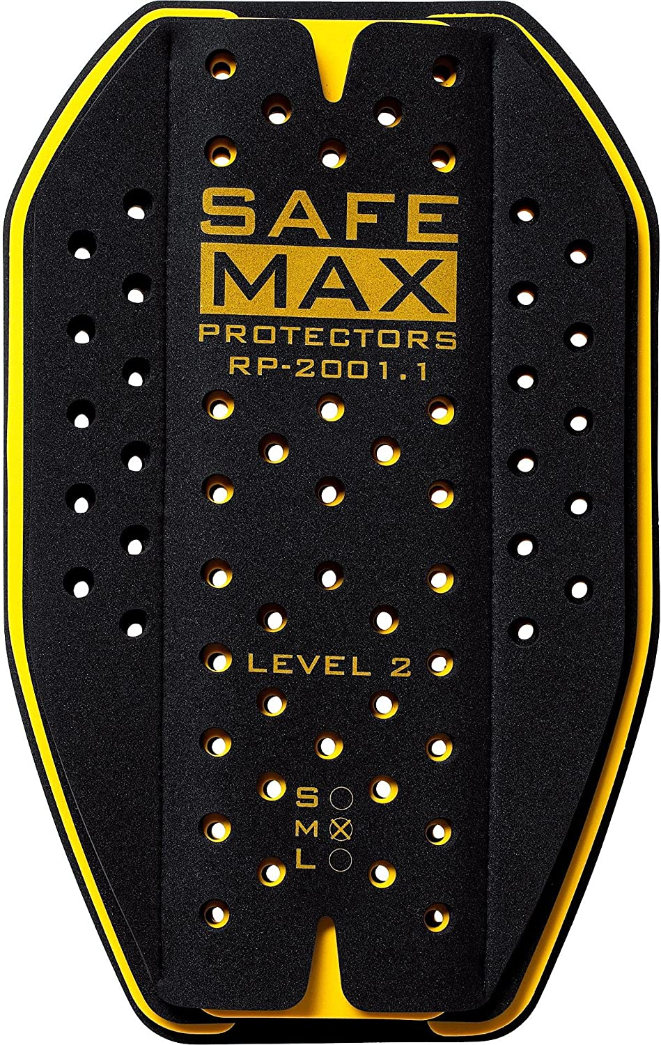4 couches Safe-Max/® Insert de protection dorsale RP-2001