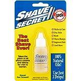 SHAVE SECRET SHAVING OIL- THE BEST SHAVE EVER! 18.75ML - 4 PACK VALUE!! by Shave Secret