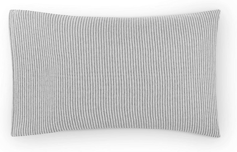 Calvin Klein Jared Pillowcase, STD PCP, Heathered Grey/Charcoal