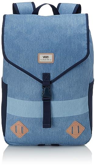 Vans - Nelson, Bolsa de Medio Lado Hombre, Azul (Bleached Indigo), Talla Unica: Amazon.es: Equipaje