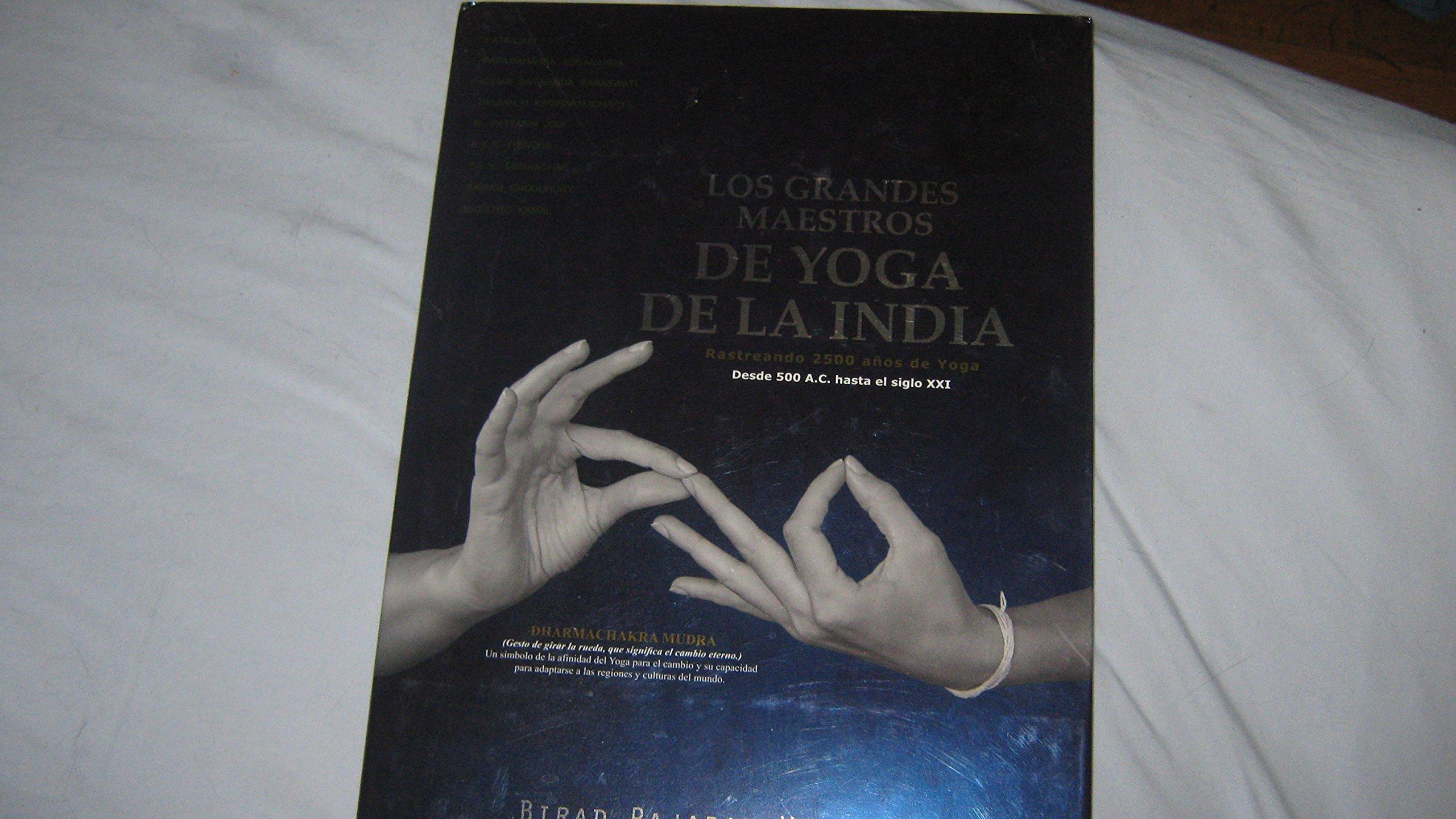 Las Grandes Maestros de Yoga de la India: The Great Indian ...