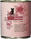 Catz Finefood Katzenfutter No.3 Geflügel 800 g, 6er Pack (6 x 800 g)