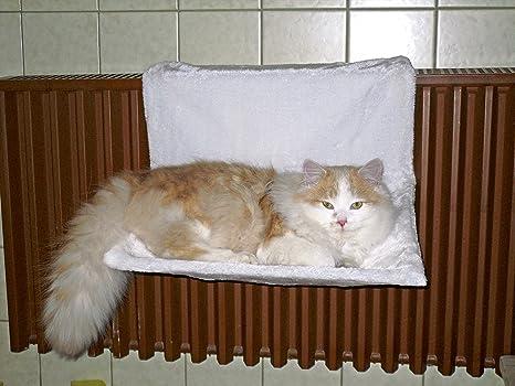 Los gatos hamaca paraíso blanco, tamaño pequeño, 45 x 30 cm ...