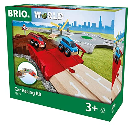 Amazon.com: Brio 33819 - Kit de carreras de coche ...