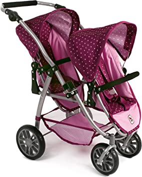 Bayer Chic Poussette Double 2000 689 29 Vario - Mauve/Rose: Amazon