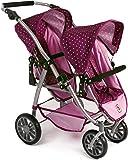 Bayer Chic 200068929–Tandem buggy VARIO, Blackberry, Purple/Pink