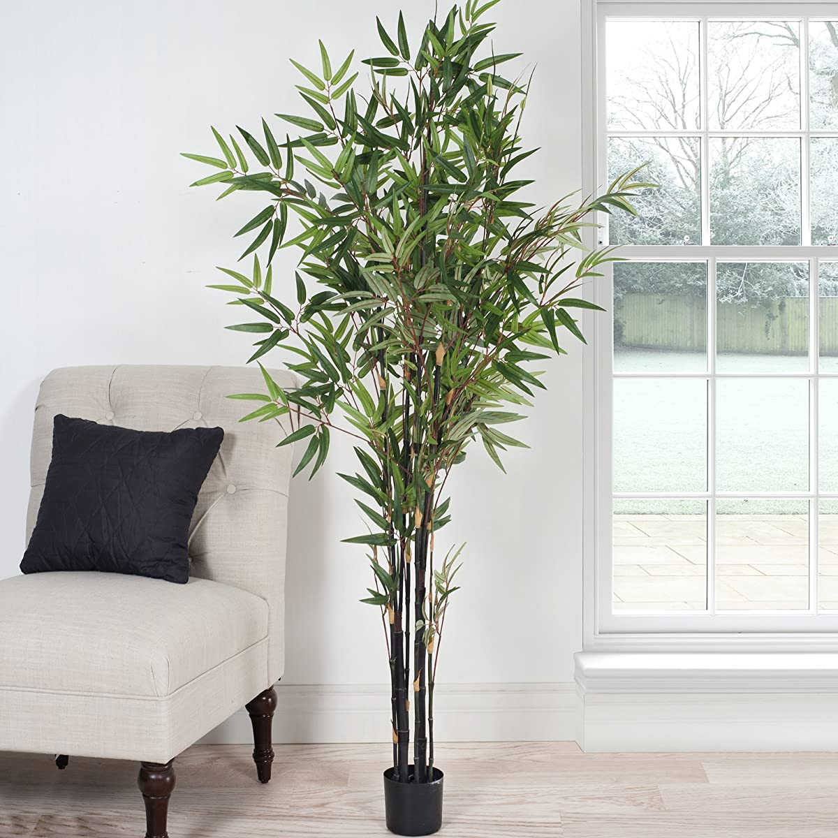 Pure Garden 5 Foot Japanese Bamboo Artificial Tree