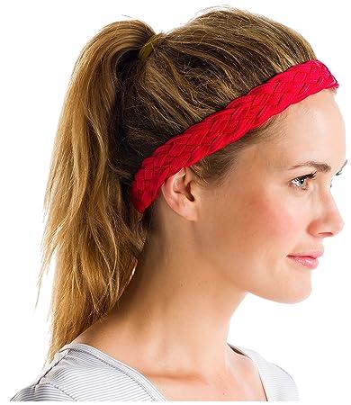 Amazon.com  Lole Tasha Headband - pomegranate 00bb10e665a