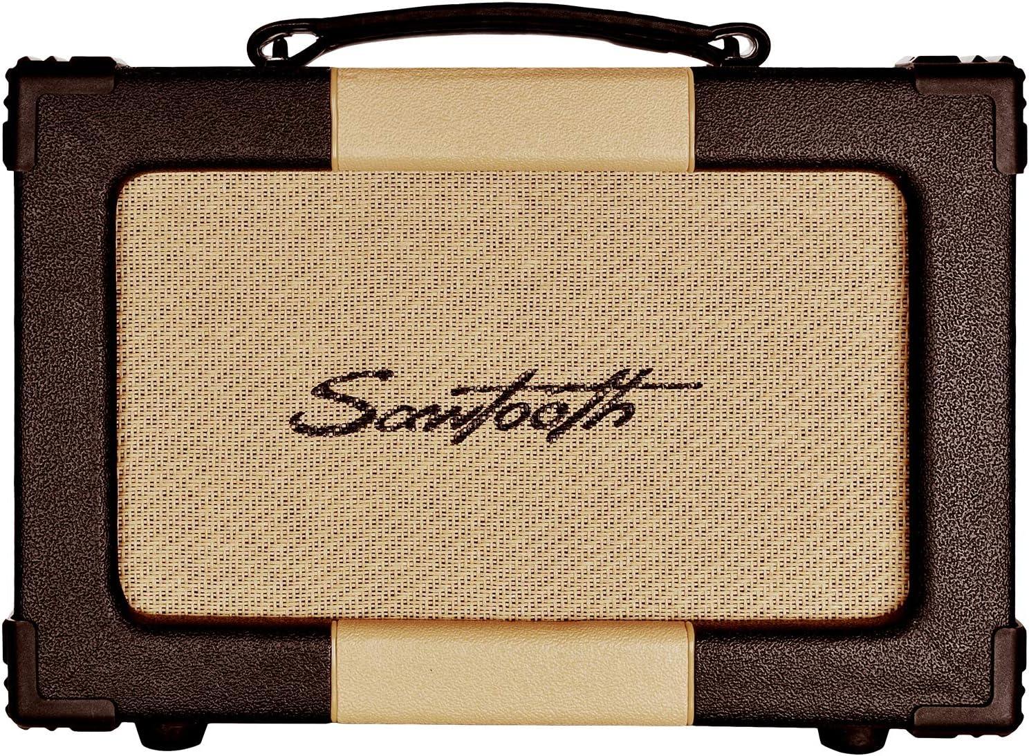 Amazon Com Sawtooth Tube Series 5 Watt Tube Amp Head Musical Instruments