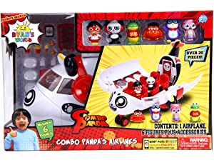 Ryan's World Toy (Combo Panda Airlines) Ryan's Toy Review