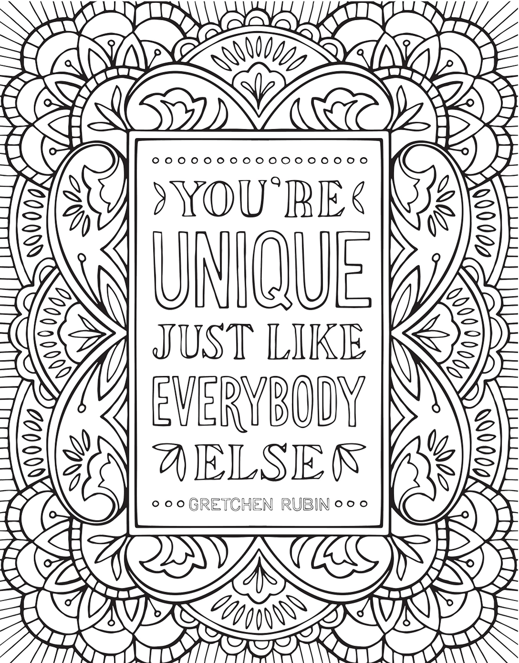 Se self control coloring pages - Amazon Com The Happiness Project Mini Posters A Coloring Book 20 Hand Lettered Quotes To Pull Out And Frame 9780451498380 Gretchen Rubin