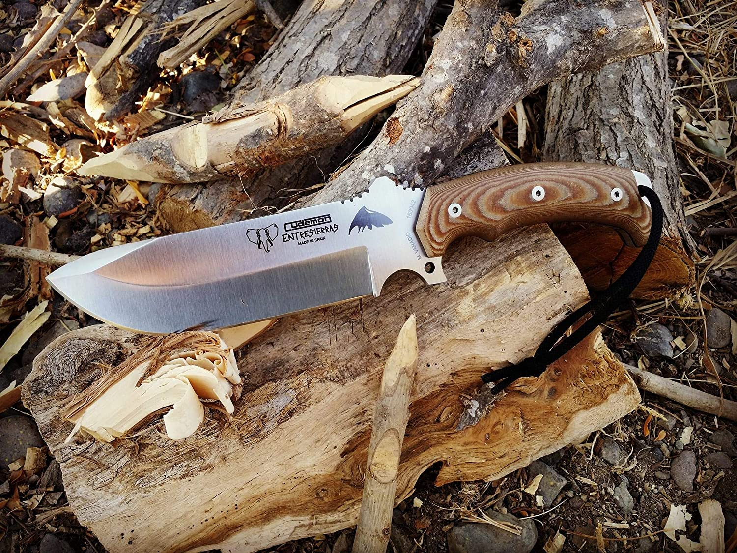 Cudeman 155-X Cuchillo, marrón, L