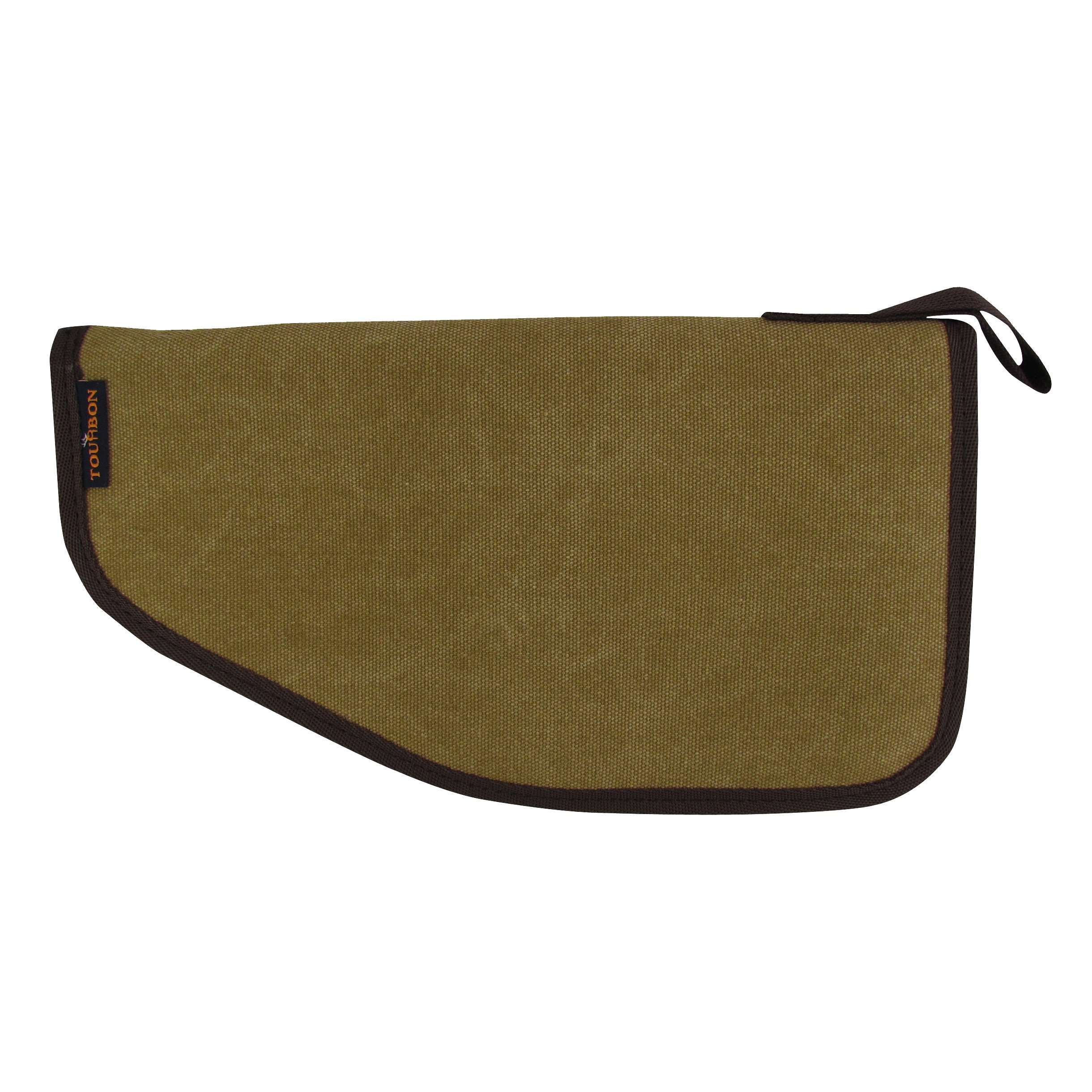 TOURBON Canvas Hand Gun Pouch Pistol Rug with Gun Accessories Pocket by TOURBON (Image #2)