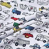 Boys Footed Pajamas Baby Zipper Sleepers Car Train
