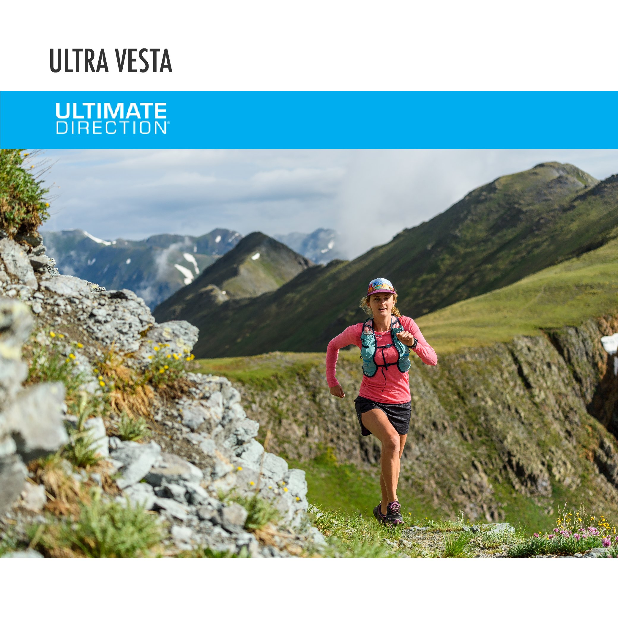 Ultimate Direction Womens Ultra Vesta 4.0, Coral, X-Small/Small by Ultimate Direction (Image #6)