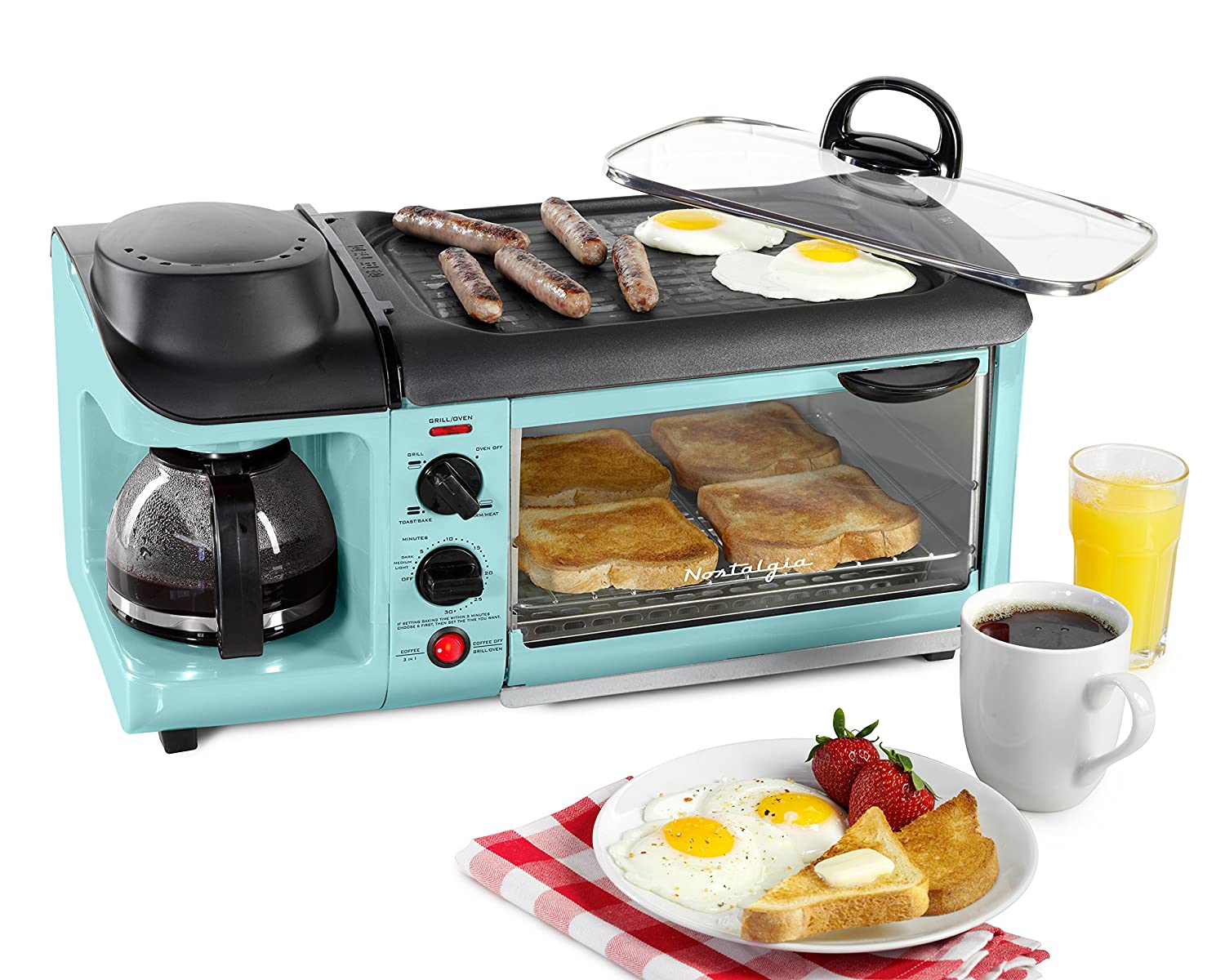 Nostalgia Retro 3-in-1 Breakfast Station