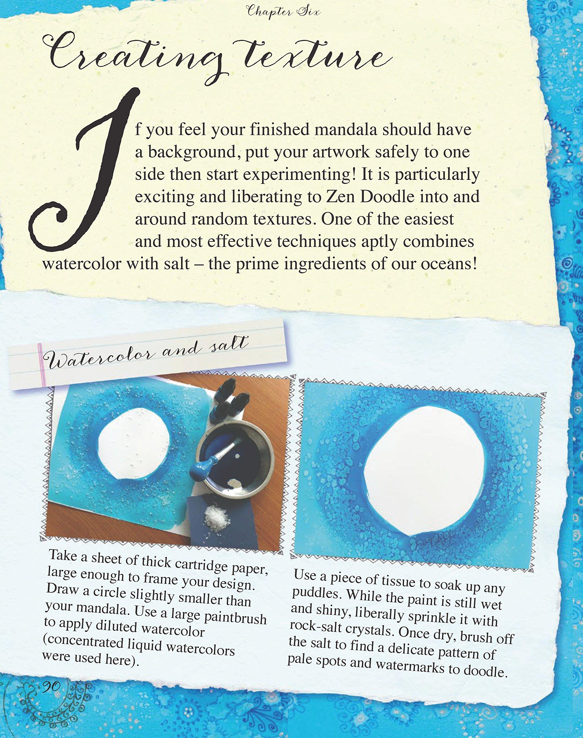 Amazon Zen Doodling Mandalas 9781438004686 Carolyn Scrace Books