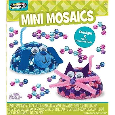 RoseArt Mini Mosaics Craft Creations: Toys & Games