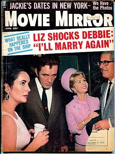 Movie Mirror 1/1965-Liz Taylor-Jackie Kennedy-pix-info-G at Amazon's