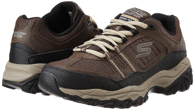 Skechers-Men-039-s-After-Burn-Memory-Fit-Strike-Off-Lace-Up-Sneaker thumbnail 24